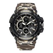 Relógio De Pulso Smael Militar Shock Original + Nf Garantia