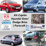 Kit Cajetin Hyundai Getz/dodge Brisa ( Partcraft )