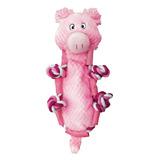 Kong Juguete Kong Peluche Nudos Cerdo Para Perro