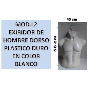 Maniquí Exhibidor Hombre Plastico De Playera, Torso
