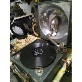 Vitrola Gramófono Antiguo