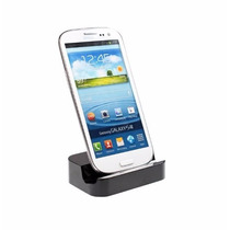 Cargador Stand Dock Micro Usb Galaxy, Htc, Nexus,etc - Negro