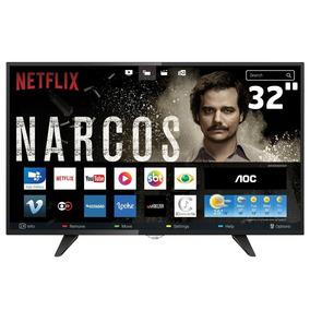 Smart Tv Led 32 Aoc Le32s5970 Hd Com Conversor Digital 3 Hd