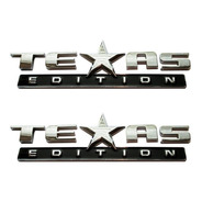 Emblema Adesivo Texas Edition Par Ford Chevrolet Dodge Jeep