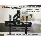 Soportes Tv, Led, Lcd, Plasma De 22 Hasta 55 Pulg, Full Acer