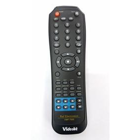 Controle Remoto Videoke Raf 7000 7500 Novo E Original!!