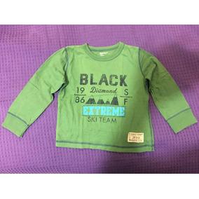 Camiseta Gap Kids Infantil Manga Longa 4 Anos