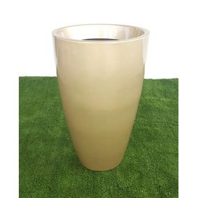 Vaso Cônico Em Fibra De Vidro Vietnamita - 0,80x0,50