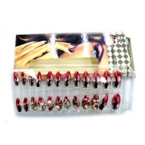 Kit Com 3 Caixas De Unhas Decoradas