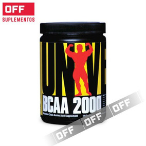 Bcaa 2000 Universal 120 Capsulas Aminoacidos Encadenados