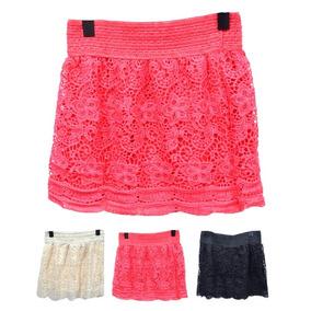 Pack 3 Shorts Falda En Colores