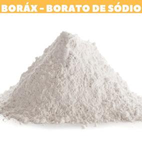 Borato De Sodio (borax) Ativador Slime Original Pct 1kg