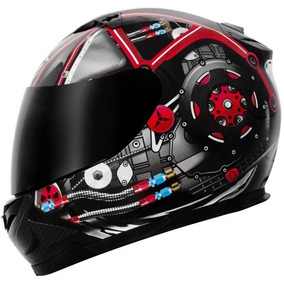 Capacete Mt Blade Monster Engine Carbon Tamanho 62