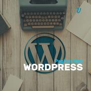 Pagina Web Blog  Wordpress Adaptable Editable Diseño Web