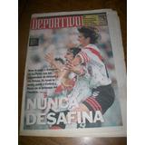 Clarin Deportivo - Gimnasia Lp 0 River 2 / Mauricio Pineda
