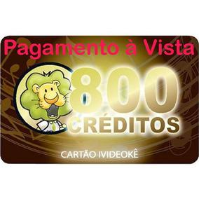 Videokê Cartão 800 Créditos Oficial Videokê Wmusic