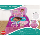 Combo Cover Quilt Y Sabanas 1 Y 1/2 Plaza Dra Juguetes Doc