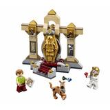 Scooby Doo Múmia Museu 109pçs Compatível Ao Lego