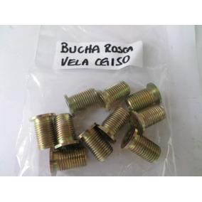 Bucha Recuperadora De Rosca Vela Cg 150 - 10 Pçs