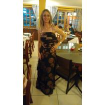 Vestido Longo Morena Rosa