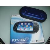 Sony Psp Vita + Forro + 03 Juegos + Memoria 8 Gb Como Nuevo