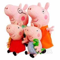 Peppa Pig E Familia 4 Pelucia George, Papai Ptr. Entrega