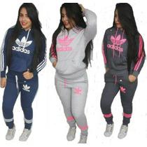 Conjunto Agasalho Adidas