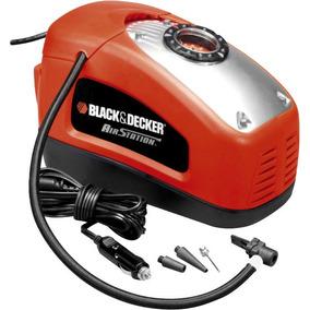 Inflador Para Auto Black Decker Asi 300 12v-220v + 3picos
