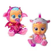Cry Babies Linea Fantasy Unicornio Y Dragon Lloran De Verdad