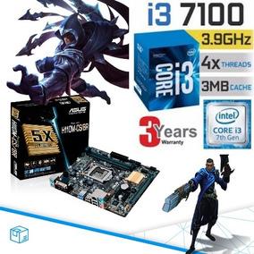 Kit Gamer Core I3 7100 3.9 Asus H110 Apu Intel Graph Hd 630