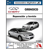 Manual Taller Diagramas Electrico Chery Orinoco Original