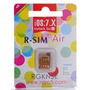 R-sim Air Original Iphone 4s Telcel Movistar Iusa Att