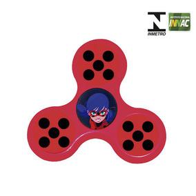Hand Spinner Anti Stress Certificado - Miraculous - Ladybug