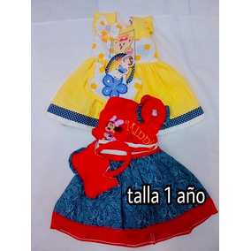 Vestido Para Niña (1 Año Y 2 Años)