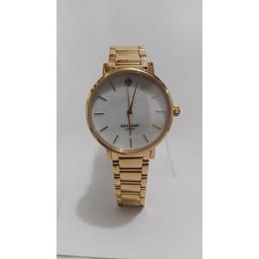 Reloj Dama Kate Spade Acero Color Oro Rosa Original