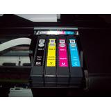 Juego Tinta Alternativa Para Epson Xp 101-201-211-214-401