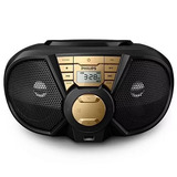 Micro System Rádio Philips Px-3115 Rádio Am Fm Usb Cd Mp3