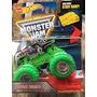 Monster Jam Hot Wheels Grave Digger Ruedas Verdes-minijuegos