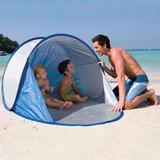 Bestway Carpa Playa Secura Autoarmable Pop Up Protección Uv