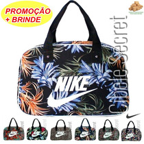 Bolsa Grande Sacola Mala Feminina Modelo Nike Floral