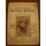 Partitura Manos Brujas Carlos Gardel Fox Trot José Aguilar