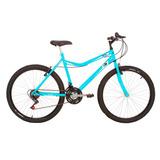 Bicicleta Mountain Bike Mormaii Aro 26 Jaws - Azul Piscina
