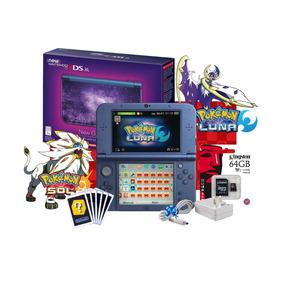 * Nuevo New 3ds Xl Galaxy + 64gb / Saga Pokemon + Cargador*