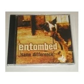 Cd Entombed -same Difference (novo)