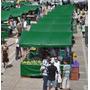 Lona Barraca De Feira Verde Ck 300 Micras Impermeável 7x6 M