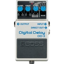 Pedal Boss Para Guitarra Ou Violao Digital Delay Dd-3 - Dd3