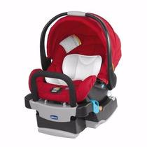 Bebê Conforto Chicco Keyfit Fire Vermelho Com Base