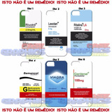 Capinha Capa 3d Rivotril Ritalina Viagra Samsung J2 J3 J5 J7