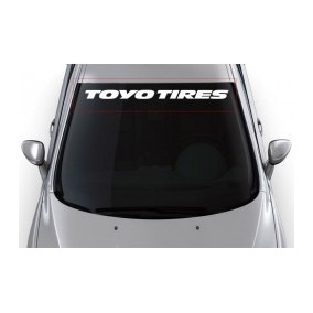Adesivo Carro Rebaixado Toyo Tires 90x12 Cm