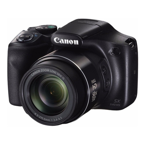 Canon PowerShot SX540 HS compacta avanzada color negro